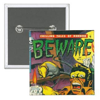 Beware comic book buttons