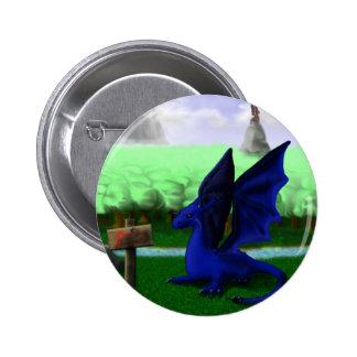 Beware, Dragons 2 Inch Round Button