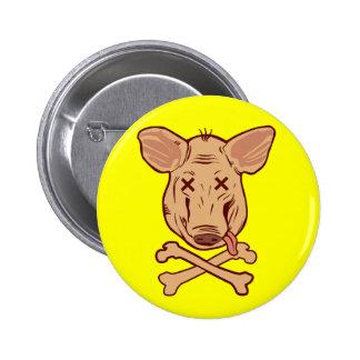 Beware h1n1 2 inch round button