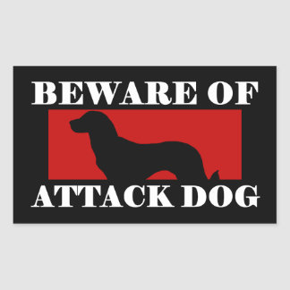 Beware of Attack Dog - Anatolian Shepherd Dog Sticker