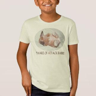 Beware of Attack Rabbit Shirt