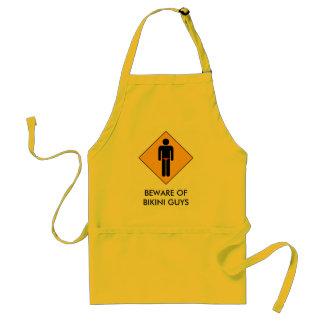 Beware of Bikini Guys Standard Apron