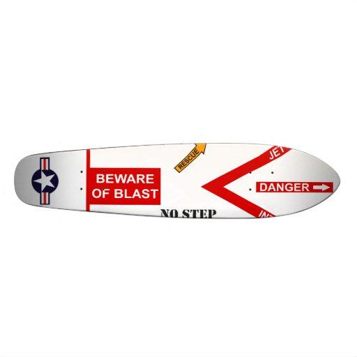 Beware of Blast Skate Board Decks