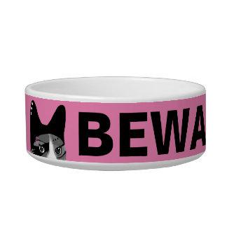 Beware of Cat Bowl