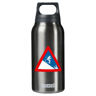 Beware of Crocodiles, Sign, South Africa Insulated Water Bottle