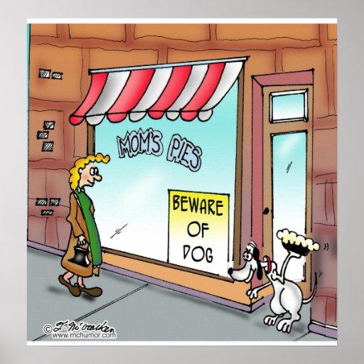 Beware of Dog Print