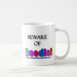 Beware of Doodle Coffee Mug