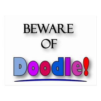 Beware of Doodle Postcard