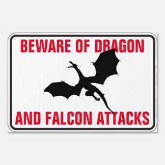 Beware of Dragon and Falcon Attacks