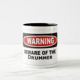 Beware of Drummer Mug