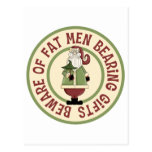 Beware Of Fat Men Funny Christmas Gift