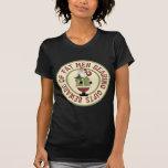 Beware Of Fat Men Funny Christmas T-Shirt