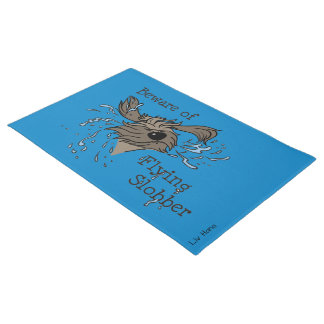 Beware OF flying more slobber Doormat