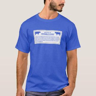 Beware of Invisible Cows, Sign, Hawaii, US T-Shirt