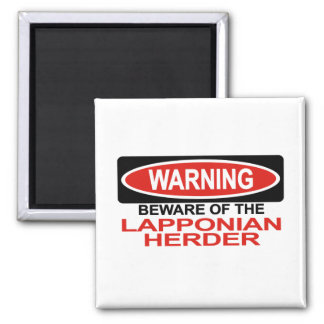 Beware Of Lapponian Herder Magnet