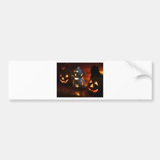 Beware of laughing spooks bumper sticker