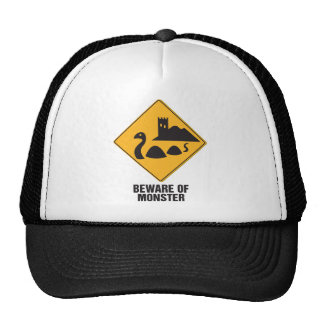 Beware Of Loch Ness Monster Trucker Hat