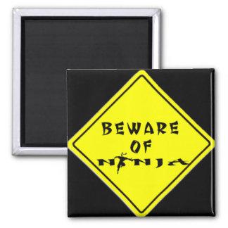 Beware of Ninja Magnet