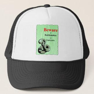 Beware of Rattlesnakes Trucker Hat