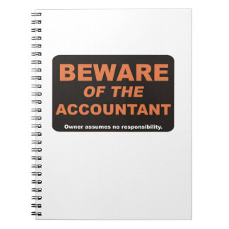 Beware of the Accountant Notebook