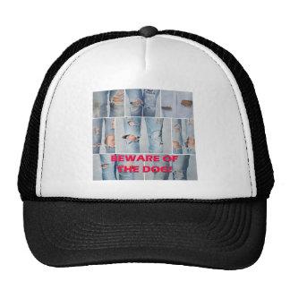 Beware of the dog trucker hat
