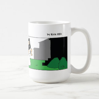 Beware of the god coffee mug