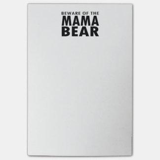 Beware of the Mama Bear Notes