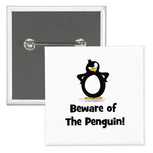 Beware of the Penguin Pin