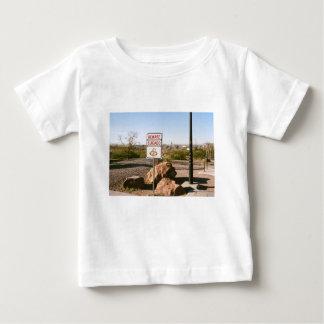 Beware Of The Snake Baby T-Shirt