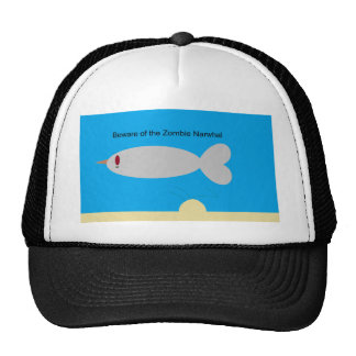 Beware of the Zombie Narwhal Trucker Hat