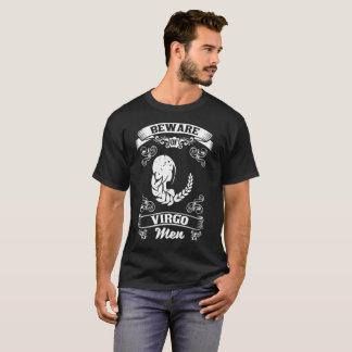 Beware of Virgo Men Zodiac Astrology T-Shirt