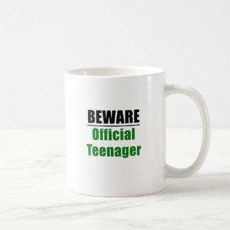 Beware Official Teenager Coffee Mug