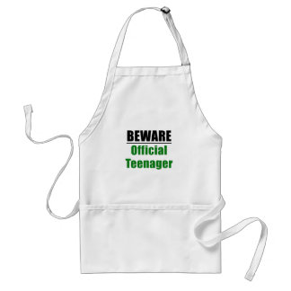 Beware Official Teenager Standard Apron