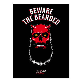 Beware the Bearded Postcard