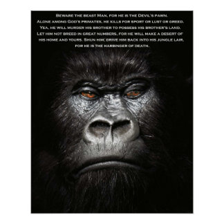 Beware the Beast Man... Poster