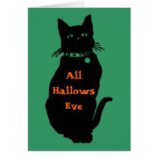 Beware the Black Cat Card