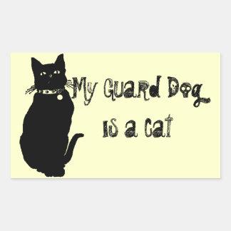 Beware the Black Cat Sticker