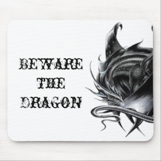Beware the Dragon Mousepad