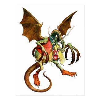 Beware the Jabberwock, my son! from Wonderland Postcard