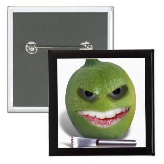 Beware the Lime with a Zester Buttons