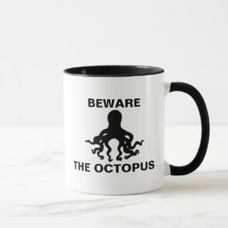 Beware the Octopus Mug