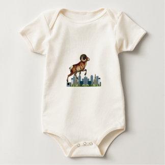 Beware the Ram Baby Bodysuit