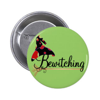 Bewitching Halloween Tshirts and Gifts 2 Inch Round Button