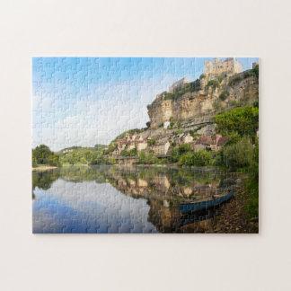 Beynac-et-Cazenac and Dordogne river jigsaw Jigsaw Puzzle