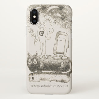 BEYOND AESTHETICS OF INJUSTICE iPhone X CASE
