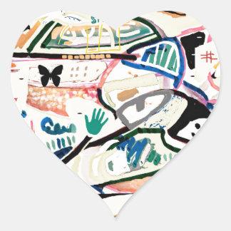 Beyond Analisis Heart Sticker