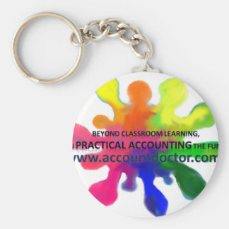Beyond classroom learning keychain