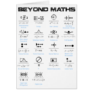 Beyond Maths Card