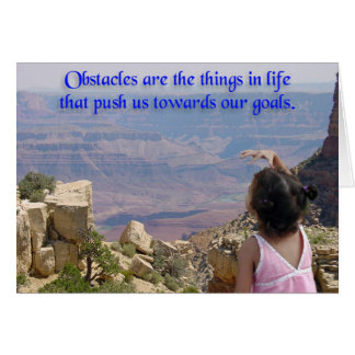 Beyond Our Obstacles Card
