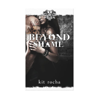 Beyond Shame Cover on Canvas